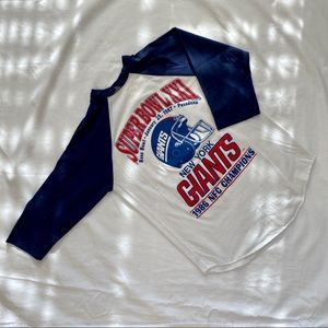 vintage 1986 21st superbowl champions t-shirt